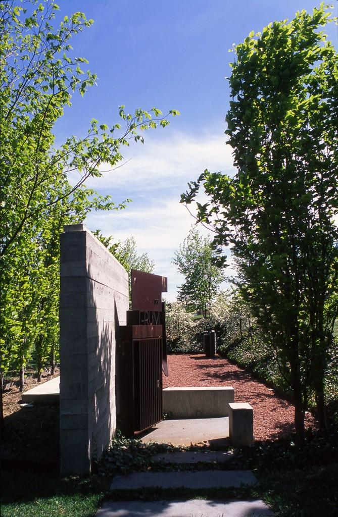 Landscape Memorial, North York, image from Shim-Sutcliffe website