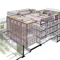 Building Information Modeling in Revit.