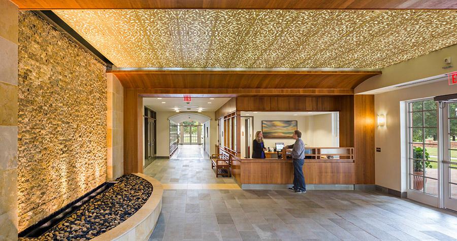 entry lobby numen lumen faith form