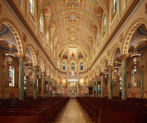Interior of St. Joseph's Co-Cathedral