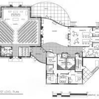 Lyke House first floor plan
