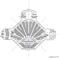 Cathedral of Turner Chapel plan