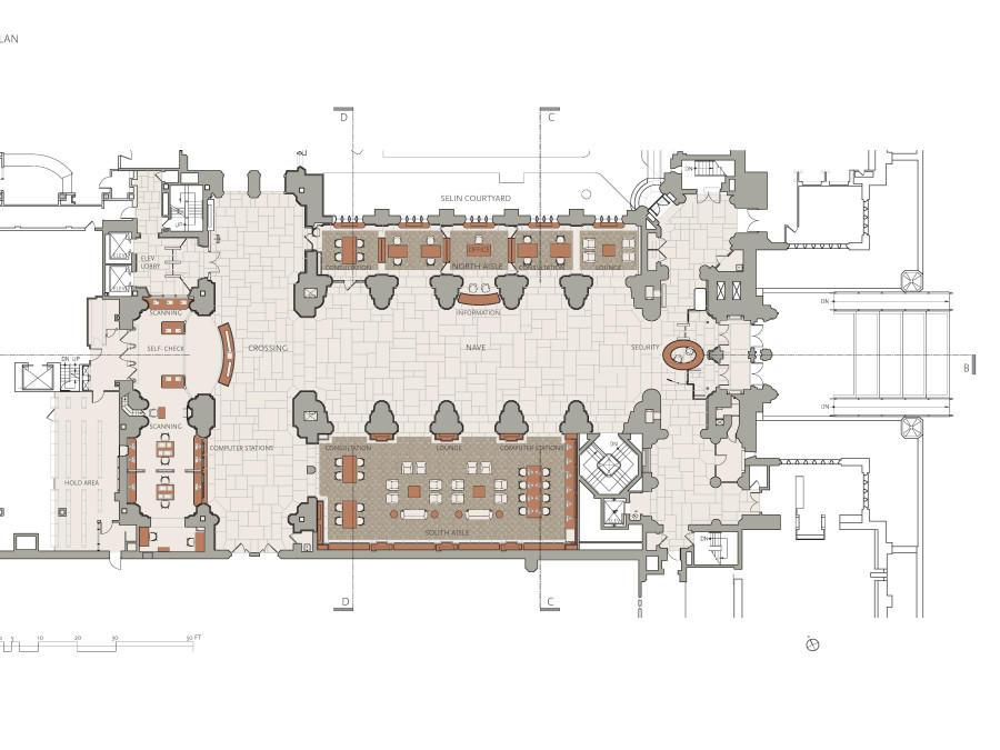 Nave Floor Plan