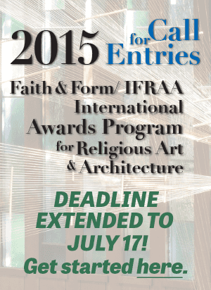 Visit Faith & Form Awards Site