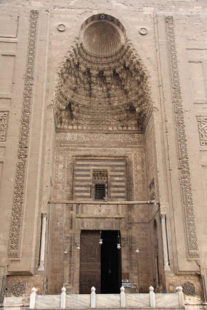 Entrance portal to the Hassan mosque is rich in images of nature.