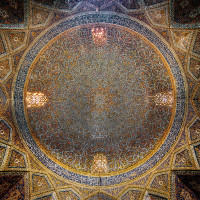 Seyyed Mosque in Isfahan, Iran