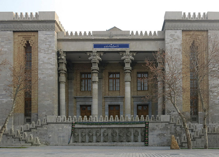 Foreign Ministry, Tehran, ca. 1930s.
