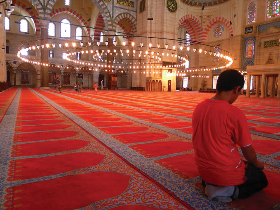 Every mosque is part of an arc of worship that encircles the world.