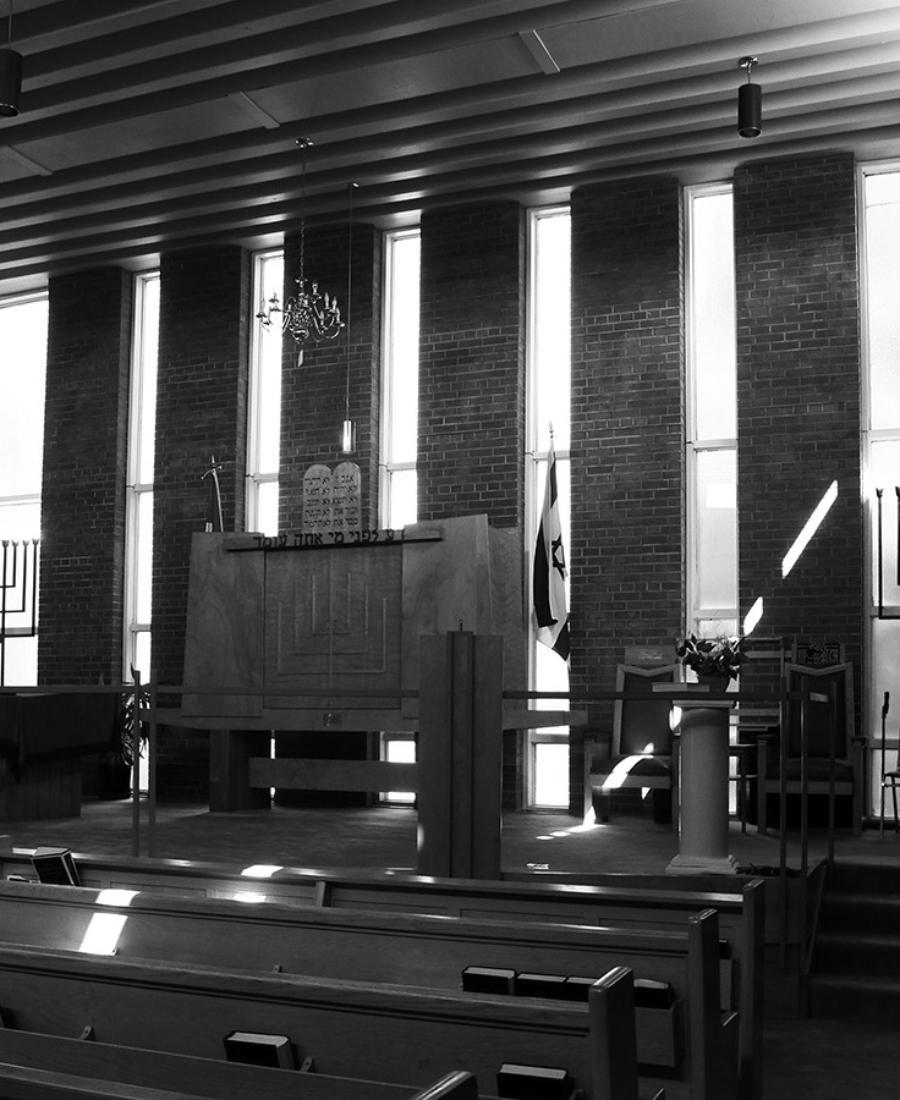 Shaar Hashomayim Synagogue, Sudbury, Ontario.
