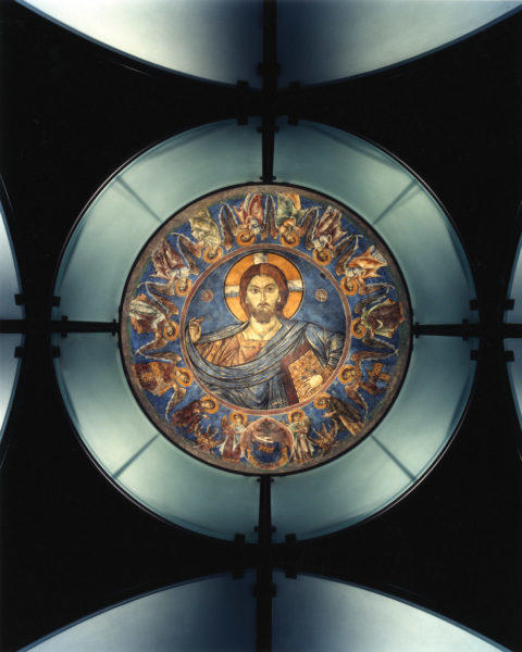 Fresco chapel dome