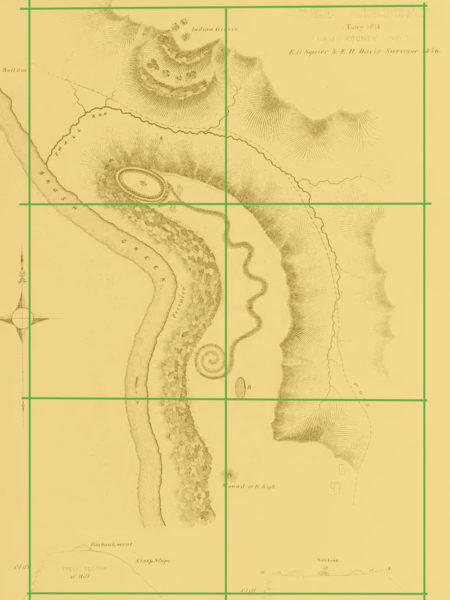 Archeological record of the Great Serpent Mound