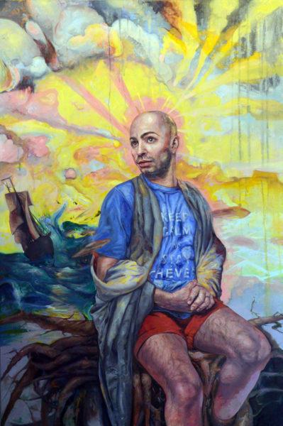 Painter Jason John's 'Don't Worry Ricder'
