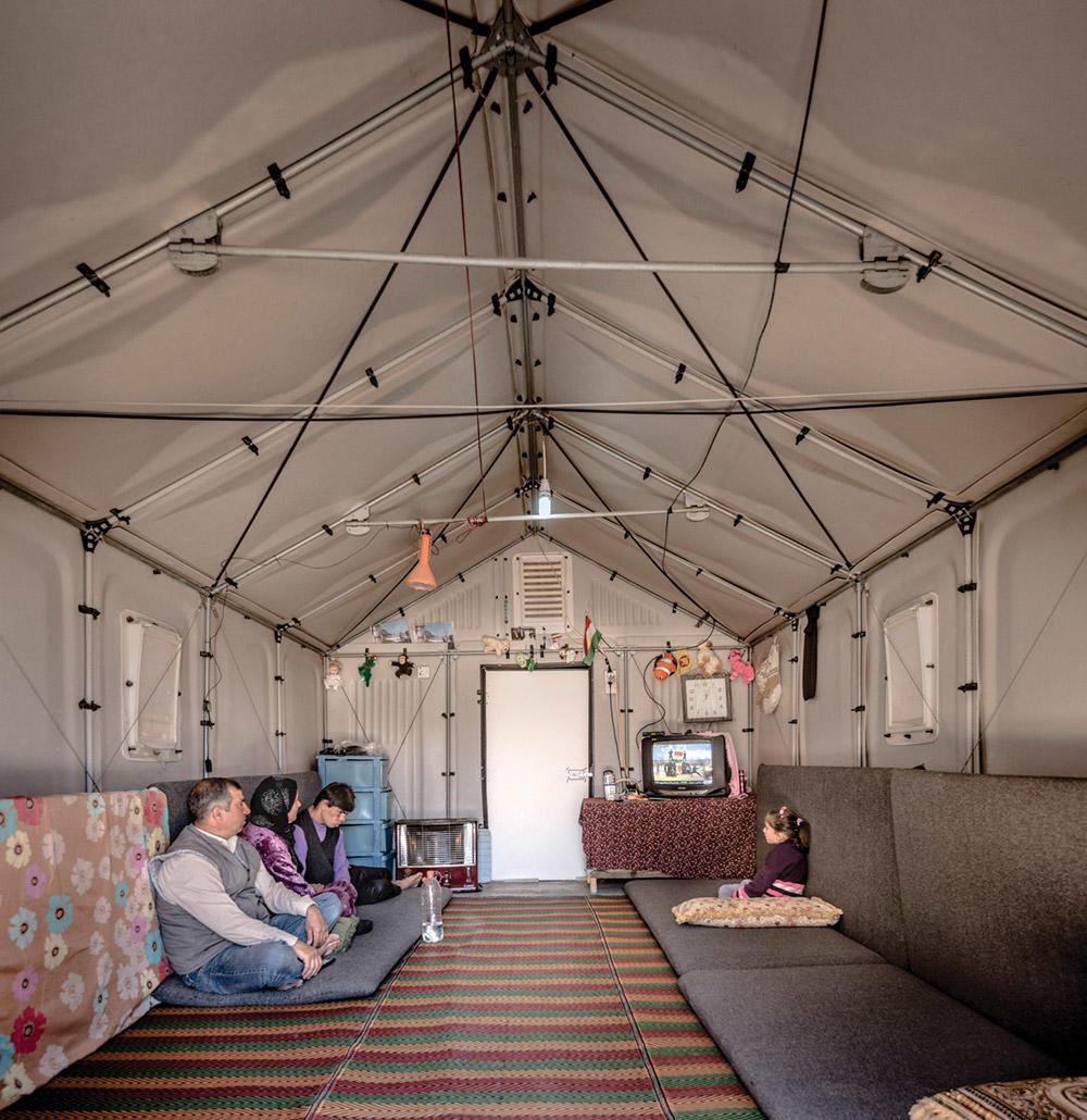 Better Shelter prototype