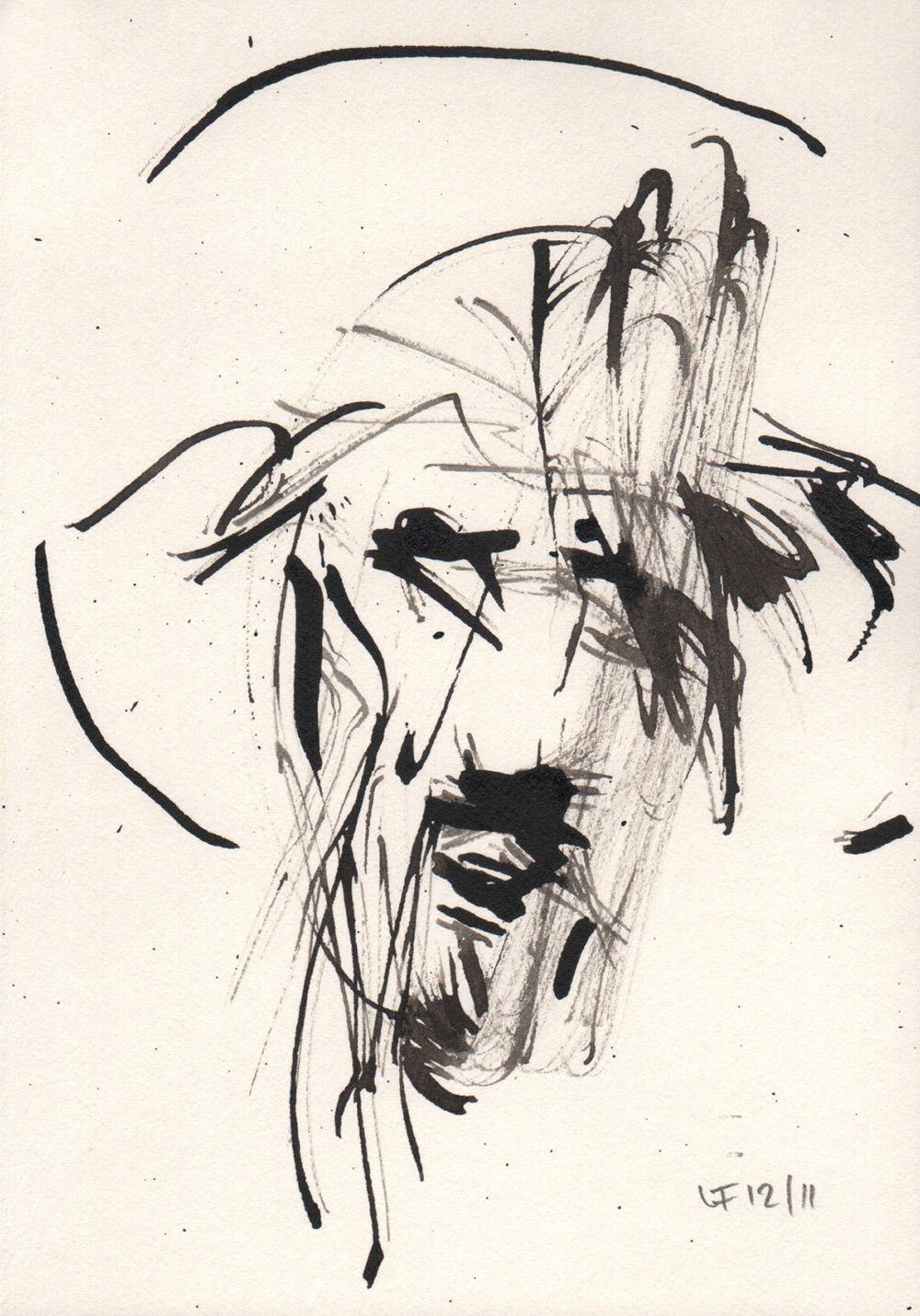 Becoming Luc Freymanc: @Jesus Drawings - Faith & Form
