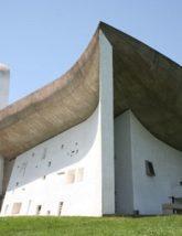 Le Corbusier's chapel Notre Dame du Haut at Ronchamp