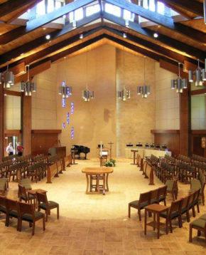 Mount Saint Benedict Chapel, Erie, PA. Photo: Michael E. DeSanctis