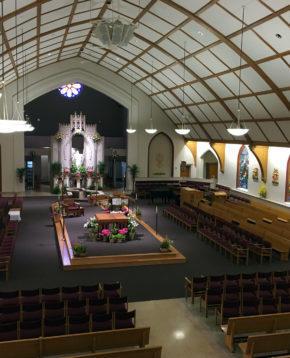 Sacred Heart Church, Erie, PA. Photo: Michael E. DeSanctis