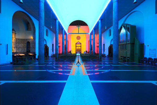 'Untitled Installation' by Dan Flavin. Photo: Public