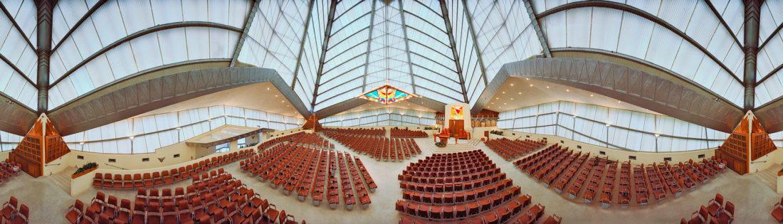 Beth Shalom Synagogue; Elkins Park, Pennsylvania; Frank Lloyd Wright.