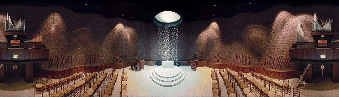 MIT Chapel; Cambridge, Massachusetts; Eero Saarinen.