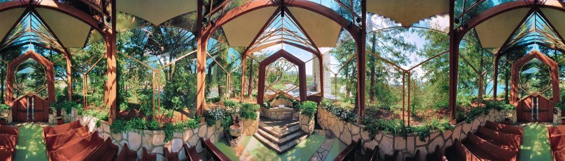 Wayfarers Chapel; Rancho Palos Verdes, California; Lloyd Wright.