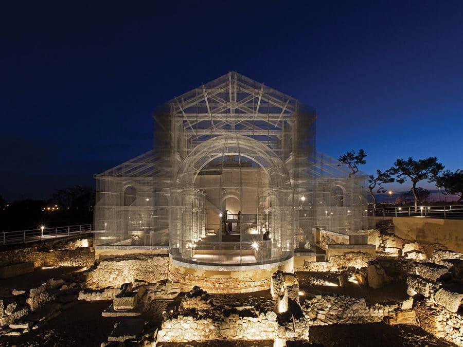 Basilica ofSiponto, Manfredonia, Italy.