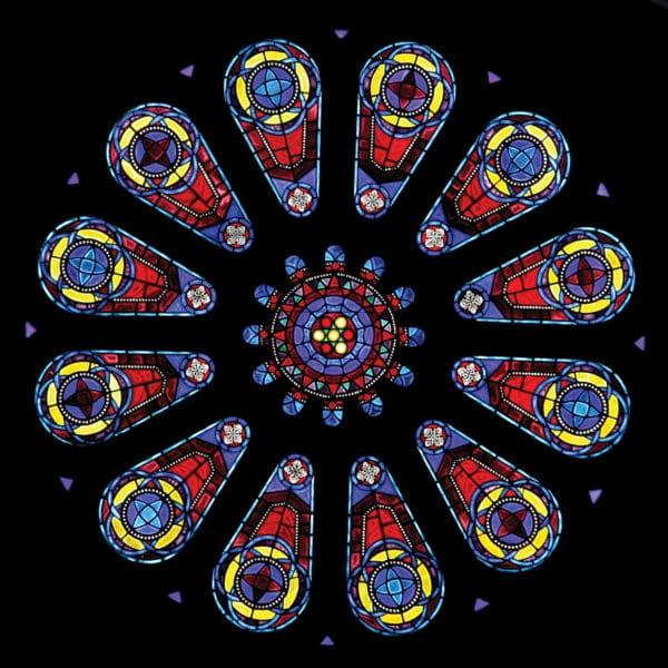Rose window by Dixon Studio