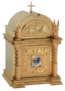 Gold-plated tabernacle