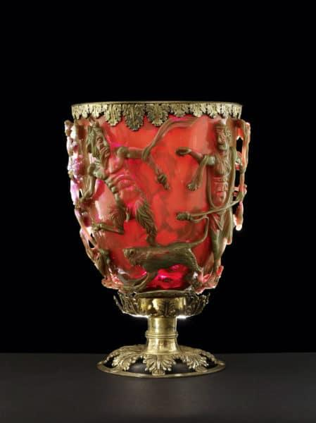 Lycurgus Cultic Cup, Roman, circa 300 C.E.