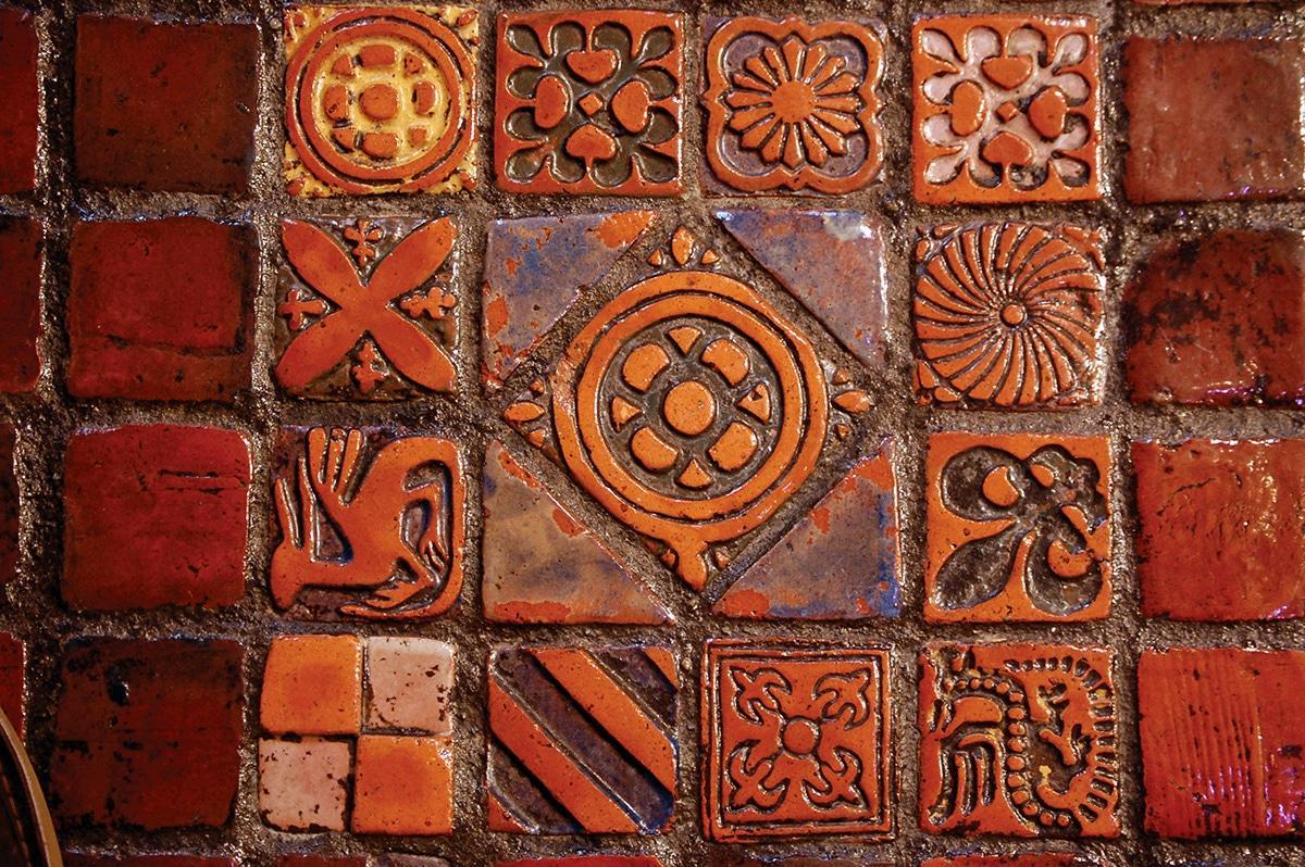 Decorative Tiles By Henry Chapman Mercer In St James Episcopal Church Lancaster Pennsylvania