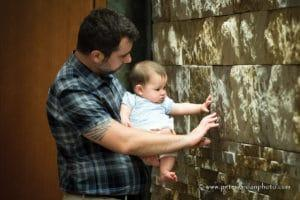 Experiencing the texture of stone
