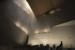 WWII Chapel concept design, nighttime. Courtesy of the WWII Museum.