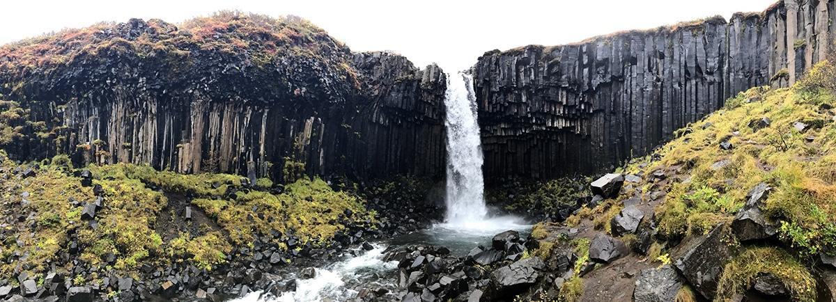 Svartifoss Waterfall, Iceland.