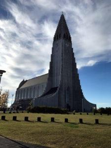 Hallgrímskirkja Church, Iceland, by Guðjón Samúelsson, 1945.
