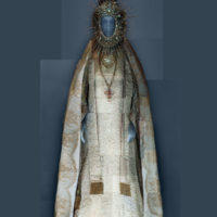 Statuary vestment for the Virgin of El Rocío