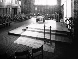 Interior of Central United Methodist