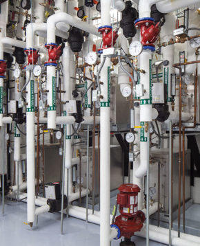 Geothermal plant reduces energy consumption by 30%