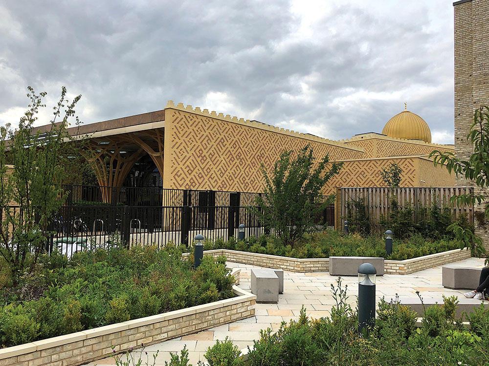Cambridge Central Mosque exterior