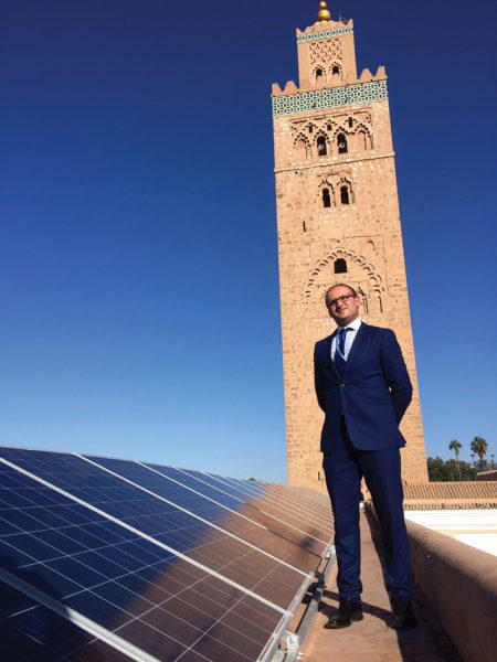 Ahmed Bouzid, head of energy efficiency for Morocco's national energy investment company SIE